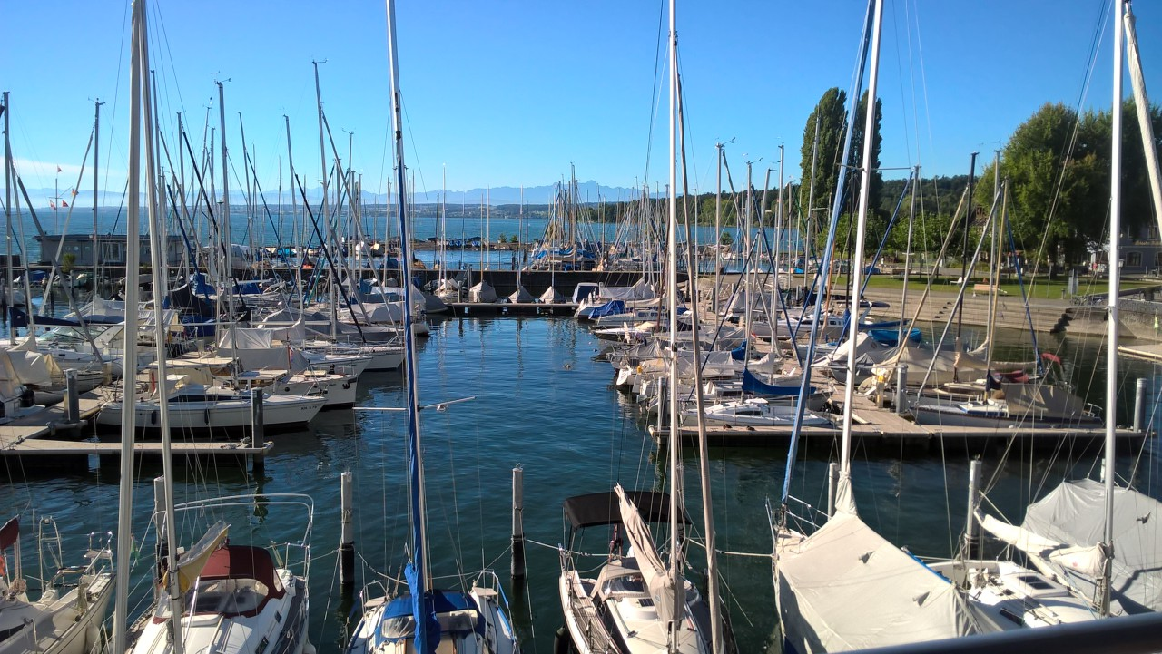 Marina in Constance-Staad