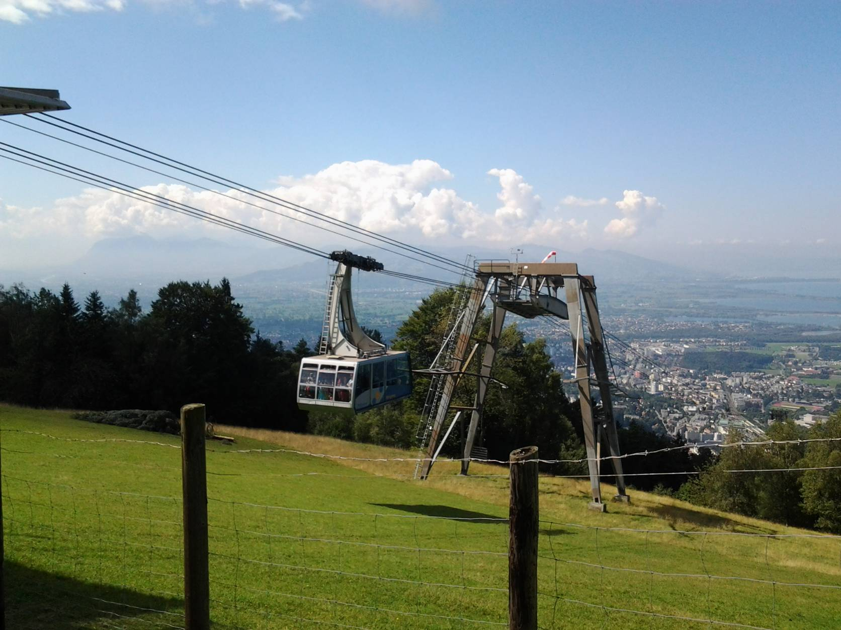 Cable railway to the Pfänder