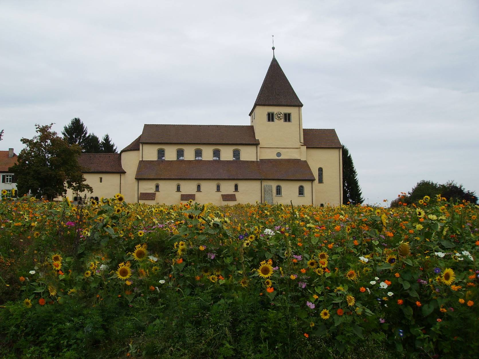 Island of Reichenau, romanic church St. Georg